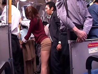 japanese whore sucks dick public