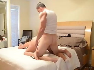 sister catches stepbrother