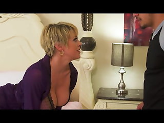 perfect boobs natural tits milf getting