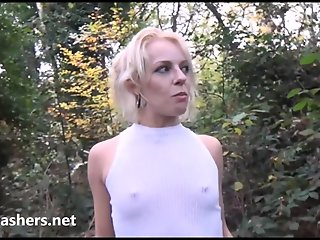 amateur exhibitionist aprils public masturbation outdoor