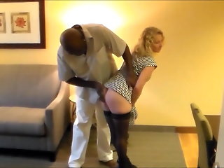 attractive blonde cuckold wife