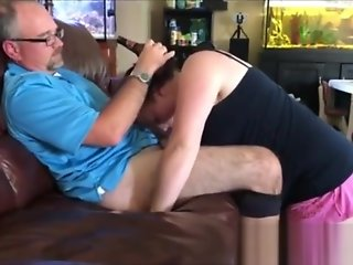 wife sucks mans dick