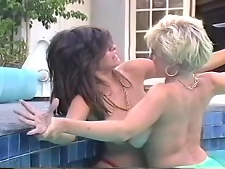retro boob fight