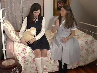 fae gets diapers ass spanked mommy