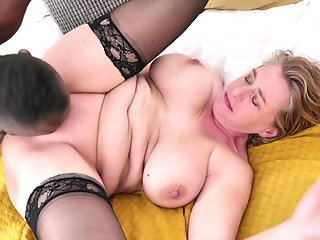 favourite milf gets banged bbc