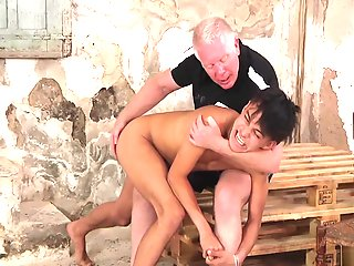 hawaiian stripped spanked