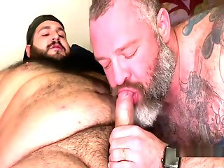 bear fucks daddy raw