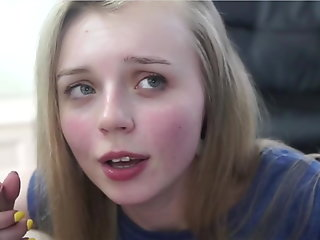 suck beautiful teen face