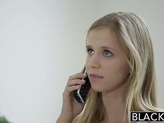 blacked petite blonde teen rachel james