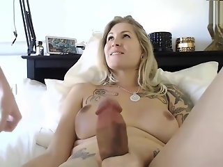 blonde milf cock shemale anal sex