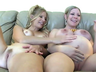 prego mommy natural tits babe -deviant-