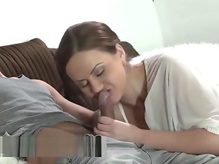 horny stepmother wants surprise cumshot