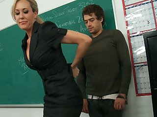 teacher takes full advantage