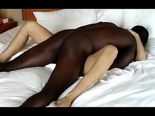 blonde gets blacked