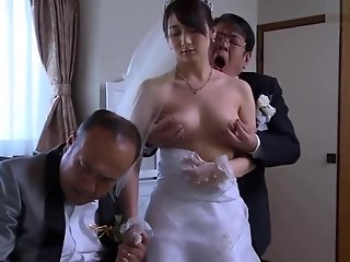 japanese wife stripped clothes husbands boss
