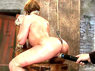 tied forced squirt fountain