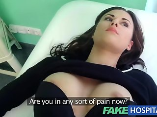 fake hospital treatment patient moan pleasure