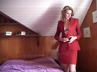 anal golden-haired mother fuck