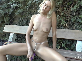 perfect blond bitch fucked ass