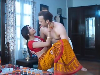 wife homemade sex red saree full